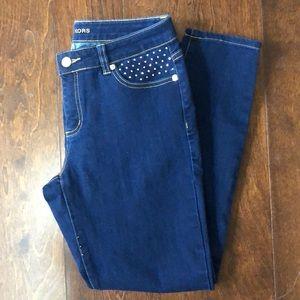 Michael kors skinny jeans with pocket details